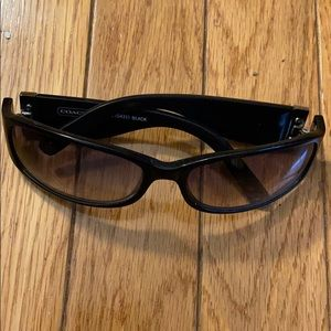Authentic Black Signature Coach Sunglasses